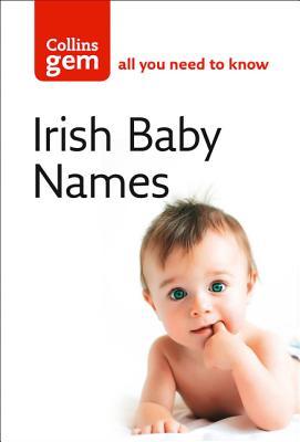 Irish Baby Names (Collins Gem) Cover Image