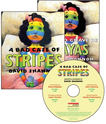 A Bad Case of Stripes [With 2 Paperbacks] Cover Image