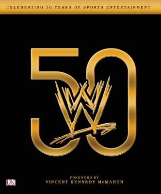 WWE 50: Paperback Cover Image