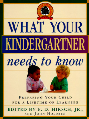 What Your Kindergartner Needs to Know Cover