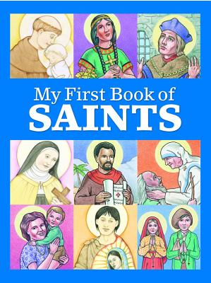 My First Book of Saints Cover Image