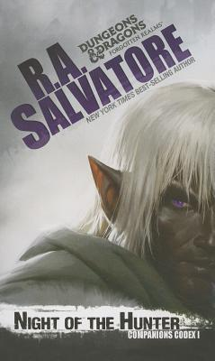 Cover for Night of the Hunter (The Legend of Drizzt #28)