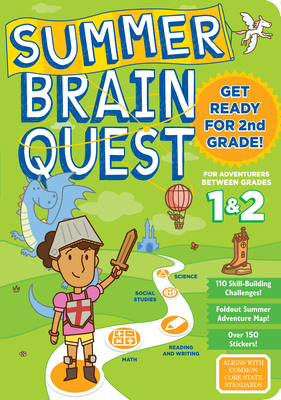 Summer Brain Quest: Between Grades 1 & 2 Cover Image