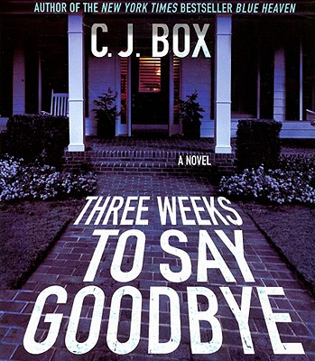 Cover for Three Weeks to Say Goodbye