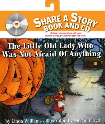 The Little Old Lady Who Was Not Afraid of Anything Book and CD Cover Image