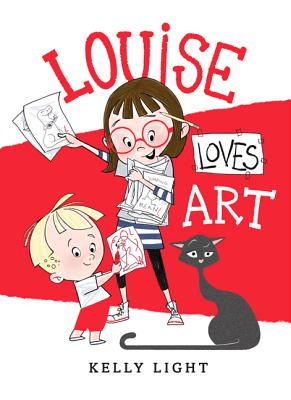 LOUISE LOVES ART by Kelly Light