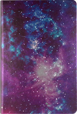 Galaxy Dot Matrix Notebook (Bullet Journal) Cover Image