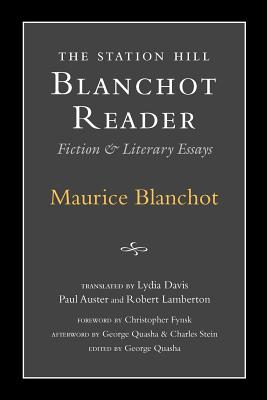 Station Hill Blanchot Reader Cover