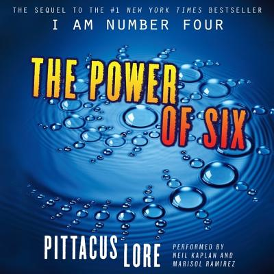 Cover for The Power of Six Lib/E (Lorien Legacies #2)
