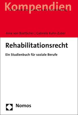 Rehabilitationsrecht: Ein Studienbuch Fur Soziale Berufe Cover Image