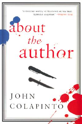 About the Author: A Novel Cover Image