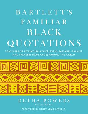 Bartlett's Familiar Black Quotations Cover
