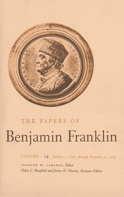 Cover for The Papers of Benjamin Franklin, Vol. 14