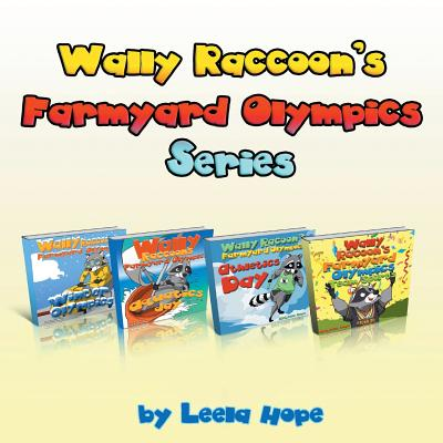 Wally Raccoon's Collection: books 1-4 cover