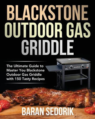 Blackstone Outdoor Gas Griddle Cookbook for Beginners Cover Image