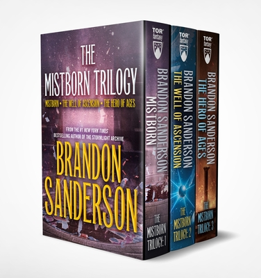 Mistborn Boxed Set I: Mistborn, The Well of Ascension, The Hero of Ages Cover Image