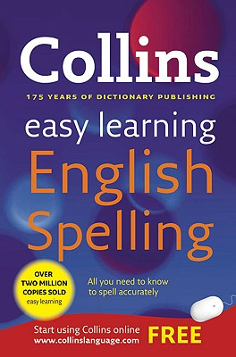 Collins Easy Learning English Spelling Cover Image