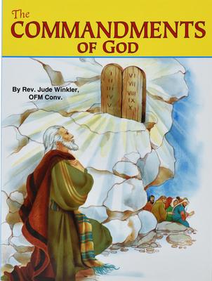 The Commandments of God (St. Joseph Picture Books) Cover Image