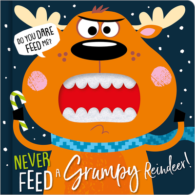 Never Feed a Grumpy Reindeer Cover Image