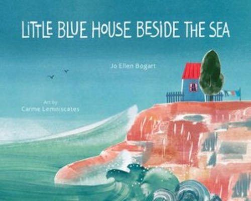 Little Blue House Beside the Sea Cover Image