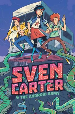 Cover for Sven Carter & the Android Army (MAX)