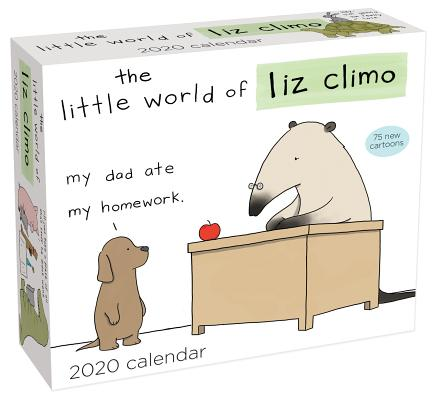 The Little World of Liz Climo 2020 Day-to-Day Calendar Cover Image