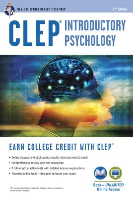 Clep(r) Introductory Psychology Book + Online Cover Image