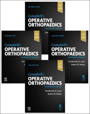 Campbell's Operative Orthopaedics, 4-Volume Set Cover Image