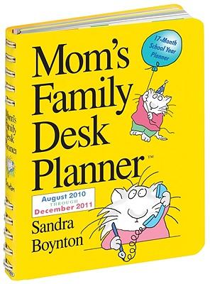Cover for Mom's Family Desk Planner 2011