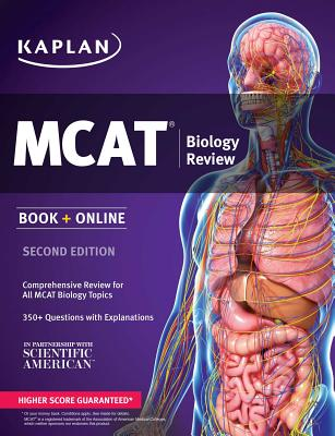 Kaplan MCAT Biology Review: Book + Online Cover Image