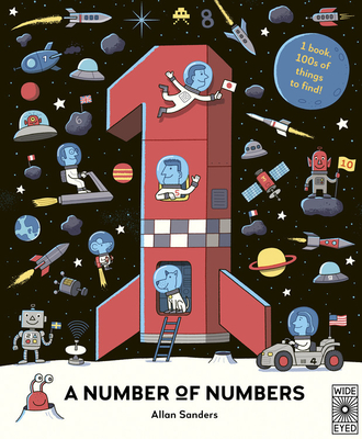 A Number of Numbers: 1 book, 100s of things to find! Cover Image