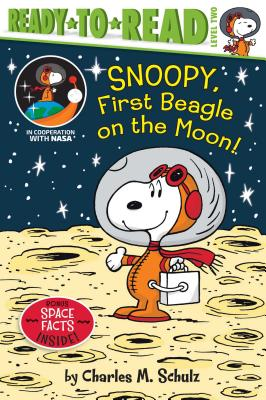 Snoopy, First Beagle on the Moon! (Peanuts) Cover Image