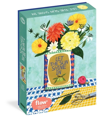 "Let the Sun Shine In 1,000-Piece Puzzle: (Flow) for Adults Families Picture Quote Mindfulness Game Gift Jigsaw 26 3/8"" x 18 7/8"" Cover Image"