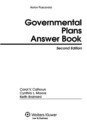 Governmental Plans Answer Book, Second Edition Cover Image