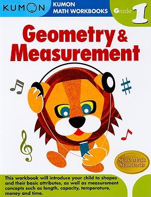 Geometry & Measurement, Grade 1 (Kumon Math Workbooks) Cover Image