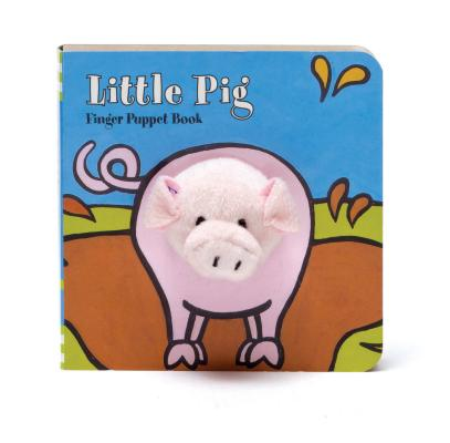 Little Pig Finger Puppet Book Cover Image