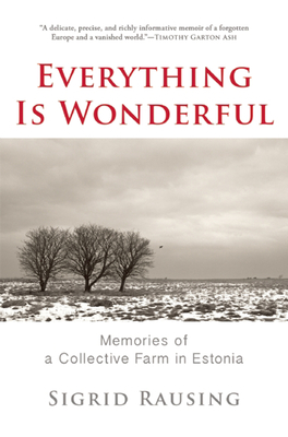 Cover for Everything Is Wonderful