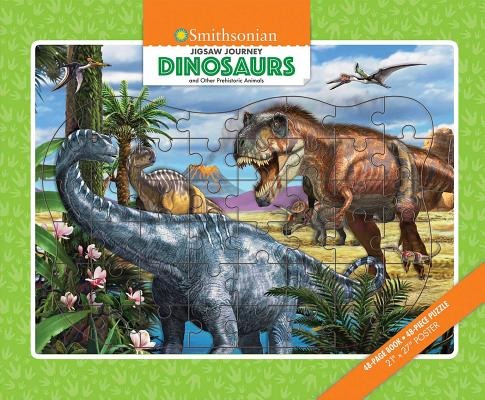 Jigsaw Journey Smithsonian: Dinosaurs & Other Prehistoric Animals Cover Image
