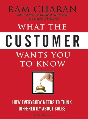 What the Customer Wants You to Know Cover