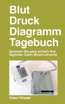 Blut Druck Diagramm Tagebuch - Deutsche Ausgabe Cover Image