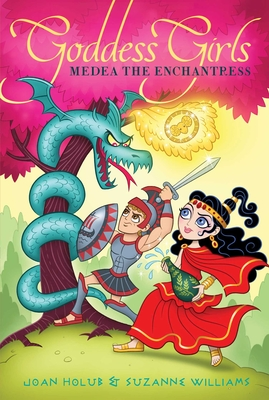 Cover for Medea the Enchantress (Goddess Girls #23)