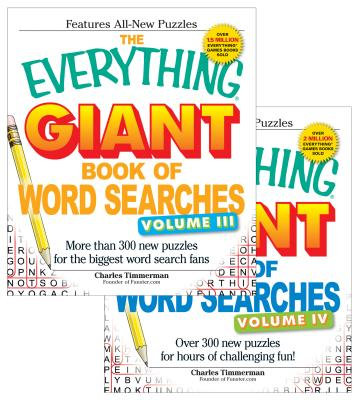 The Everything Giant Word Search Bundle - Vol III and IV Cover Image