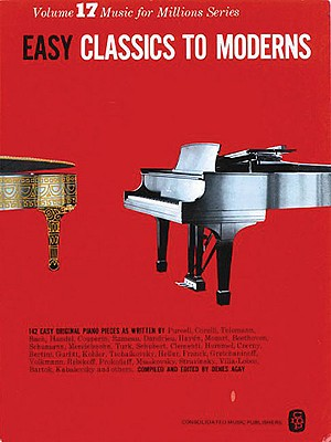 Easy Classics to Moderns: Music for Millions Series Cover Image