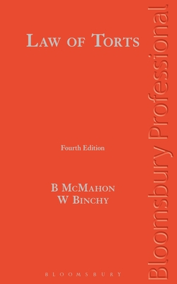 Law of Torts: A Guide to Irish Law (Fourth Edition) Cover Image