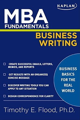 MBA Fundamentals Business Writing (Kaplan Test Prep) Cover Image