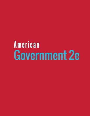 American Government 2e Cover Image