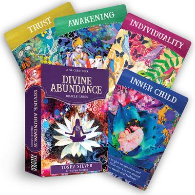 Divine Abundance Oracle Cards: A 51-Card Deck Cover Image