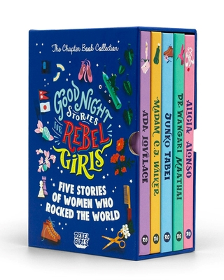 Good Night Stories for Rebel Girls - The Chapter Book Collection (A Good Night Stories for Rebel Girls Chapter Book) Cover Image