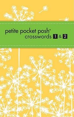 Cover for Petite Pocket Posh Crosswords 1 & 2