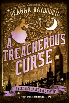 A Treacherous Curse (A Veronica Speedwell Mystery #3) Cover Image